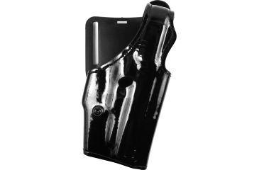 Safariland 200 'Top Gun' Mid-Ride Level I Holster, Gloss Black, Right Hand - Sig P225/228/229 - 200-74-91