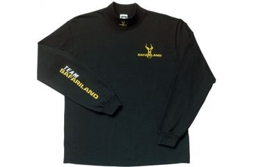 Safariland TS-2400 T-Shirt, Mock Turtleneck, Black TS-2404