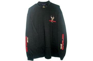 Safariland TS-2410 T-Shirt, Mock Turtleneck, Black TS-2413
