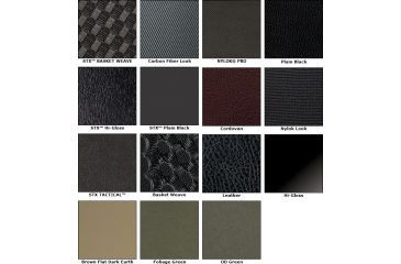 Safariland Black, Nylon-Look Finish