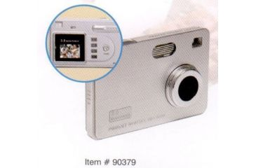 Sakar 3.1 Megapixel Thin Digital Camera w/ Color Screen 90379