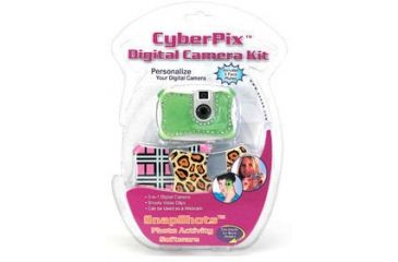 Sakar Kids Digital Camera Easy to Use Kit w/ 3 Interchangeable Face Plates