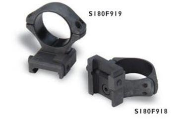 Sako Sako Optilock Ring And Base Set Phosphate Finish 30 Mm Diameter Low Fits Picatinny Rails S180f918