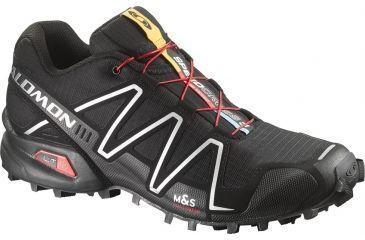 Salomon Men's Mountain Trail Series Speedcross 3 Running Shoe,Black,7 12760926