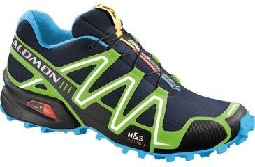 Salomon Men's Mountain Trail Series Speedcross 3 Running Shoe,Lake,10.5 36002733
