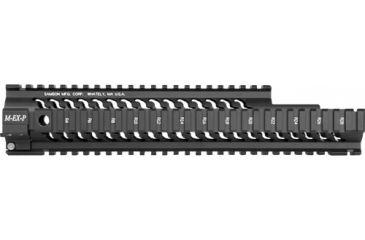 Samson Midlength Free Float Rail, Adams Arms, Black STAR-M-EX-AA