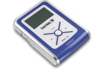 SanDisk 512MB Sansa e130 MP3 Player Blue SDMX2512A18