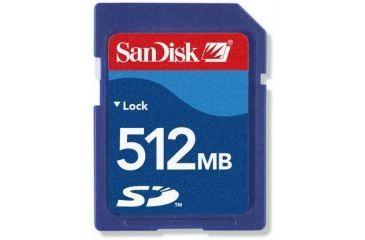 Sandisk 512MB Secure Digital SD Memory Card - SDSDB512A10