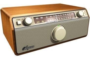 Sangean AM FM Analog W AUX In Bass Treble Control