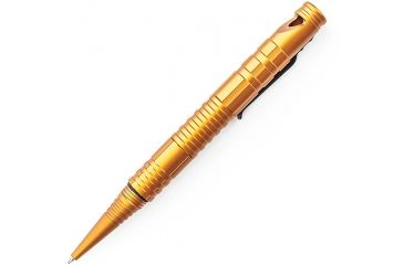 Schrade Aluminum Tactical Pen w/Fire Steel, Striker & Whistle,Orange SCPEN4O