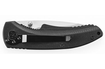 Schrade Large Liner Lock Folding Knife,3.2in Bead Blast Carbon Steel Drop Point Blade,G-10 Handle,Clam Package SCH101LCP