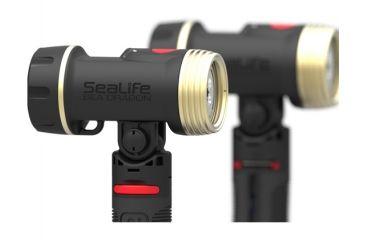 SeaLife Sea Dragon Duo 2000 UW Lighting Set, Black SL987
