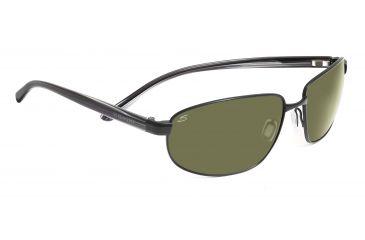 Serengeti Agazzi Sunglasses - Shiny Silver Frame, Polar PhD 555nm Lenses 7564