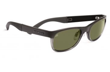 Serengeti Levanto Sunglasses - Satin Black Frame, Drivers Polarized Lenses 7585