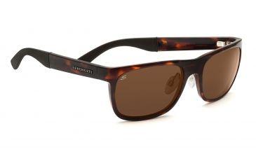 Serengeti Nico Sunglasses - Dark Tortoise Frame, Drivers Polarized Lenses 7644
