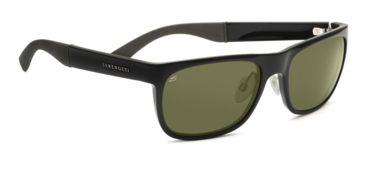 Serengeti Bella Sunglasses - Shiny Bubble Tortoise Frame, Drivers Polarized Lenses 7627
