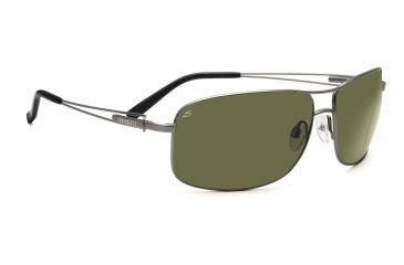 Serengeti Sassari Sunglasses - Satin Gunmetal Frame, 555nm Lenses 7669