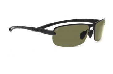 Serengeti Lorenzo Sunglasses - Shiny Gray Marble Frame, 555nm Polarized Lenses 7649