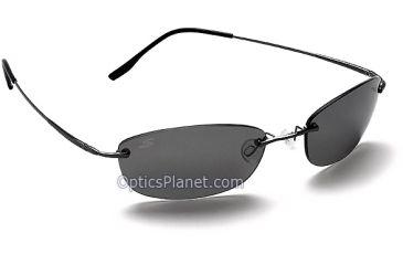 Serengeti Alto Photochromic Sunglasses - PolarMax CPG Lens, Gunmetal Frame - 6843