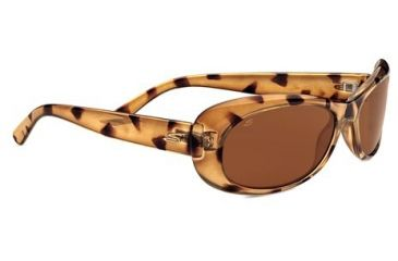 Serengeti Bella Sunglasses -  Tortoise Frame and Polarized Drivers Lens 7744