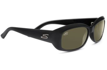 Serengeti Bianca Single Vision Rx Sunglasses - Shiny Black Frame 7364