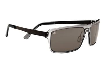 Serengeti Duccio Sunglasses - Crystal Dark Gray Frame and Polar PhD CPG Lens 7816