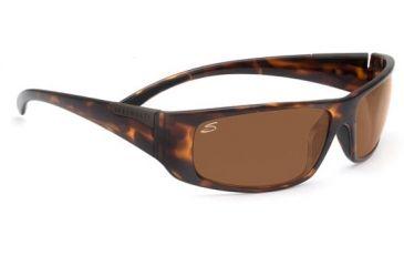 Serengeti Fasano Single Vision Rx Sunglasses Dark Tortoise Frame 7705