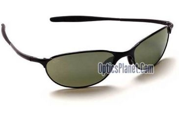 Serengeti Imola Sport Metals Sunglasses, Shiny Black Frame/555nm Lens - GG6830