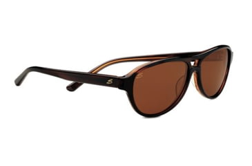 Serengeti Imperia Sunglasses - Dark Tort Honey Frame and Polarized Drivers Lens 7784