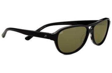 Serengeti Imperia Sunglasses - Black  Gray Tortoise Frame and 555nm Lens 7786