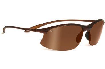Serengeti Maestrale Sunglasses Satin Dark Brownshiny Cognac Frame Polar Phd Drivers Gold Lenses 7711