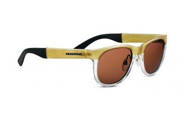 Serengeti Destare Sunglasses - Shiny Dark Gunmetal Frame, Polar PhD Drivers Lenses 7687