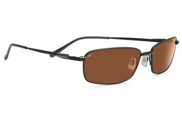 Serengeti Modena Progressive Rx Sunglasses Matte Black W Black Tannery Frame 7549