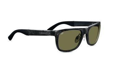 Serengeti Destare Sunglasses - Satin Silver Frame, Polar PhD 555nm Lenses 7689