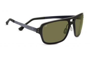 3a5d02567b2a Serengeti Nunzio Sunglasses, Genus Shiny Carbon Fiber Frame, Polar PhD  555nm L 7907
