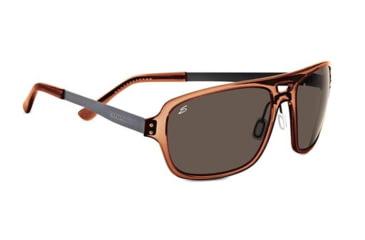 Serengeti Nunzio Sunglasses, Crystal Dark Brown 7834RX