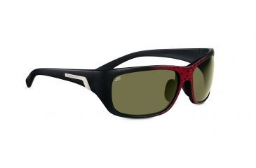 Serengeti Milano Sunglasses - Shiny Bubble Tortoise Frame, Drivers Polarized Lenses 7656