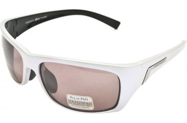 Serengeti Orvieto Sunglasses - Silver Pearl Black Frame, Polar PhD Sedona Lenses 7617