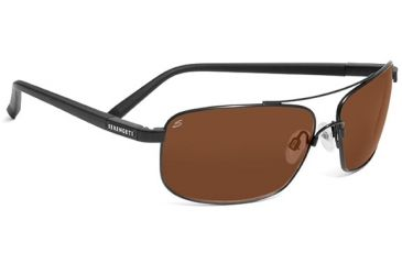 Serengeti Palladio Progressive Rx Sunglasses Satin Black Frame 7566