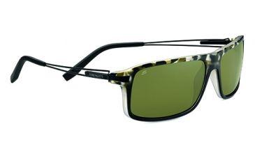 Serengeti Rivoli Progressive Prescription Sunglasses, Satin Black Tortoise Frame-7766PR