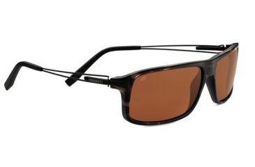 Serengeti Rivoli Sunglasses, Satin Brown/Black Tortoise 7768PR