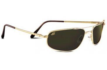 Serengeti Velocity Rx Sunglasses Shiny Gold Frame 7289
