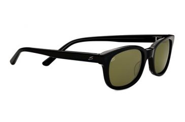 Serengeti Serena Sunglasses - Black  Gray Tortoise Frame and Polarized 555nm Lens 7777
