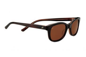 Serengeti Eyewear Sonnenbrille Serena, Black Grey Tortoise Lam, S, 7777