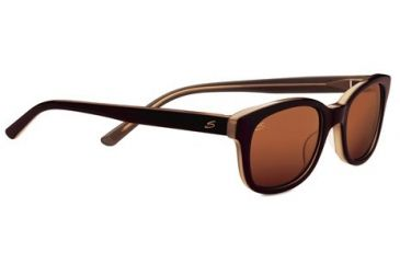 Serengeti Serena Sunglasses - Burnt Almond Frame and Drivers Lens 7782