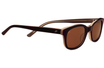 Serengeti Serena Sunglasses - Burnt Almond Frame and Polarized Drivers Lens 7780