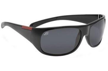 Serengeti Mente Rx Sunglasses Shiny Black Frame