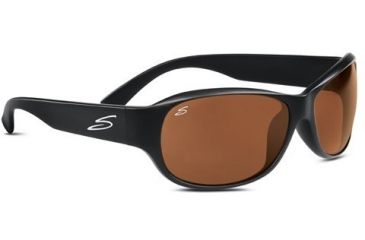 Serengeti Giada Rx Sunglasses Shiny Black Frame