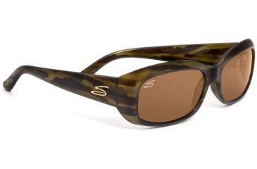 Serengeti Bianca Rx Sunglasses Dark Stripe Tortoise Frame