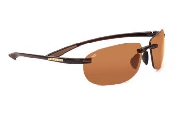 Serengeti Cielo Rx Sunglasses, Shiny Brown Frame, 7474